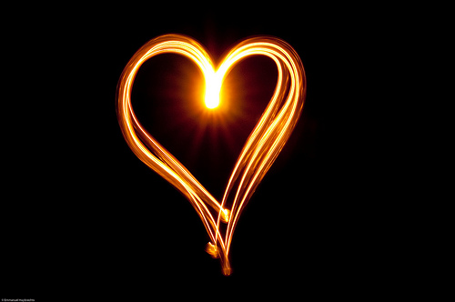 Sparklers Heart