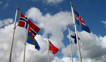 Scandinavia Flags
