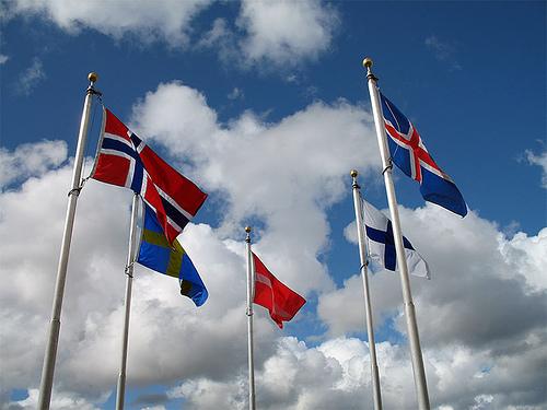 Scandinavia Flags