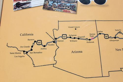 Road Trip Route
