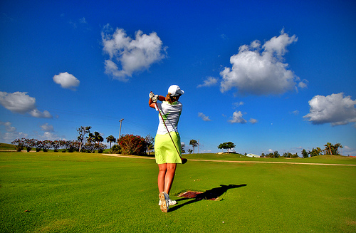 Vacation Golfing