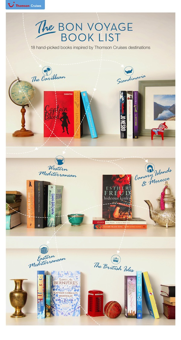 Thomson Cruise Bon Voyage Book List